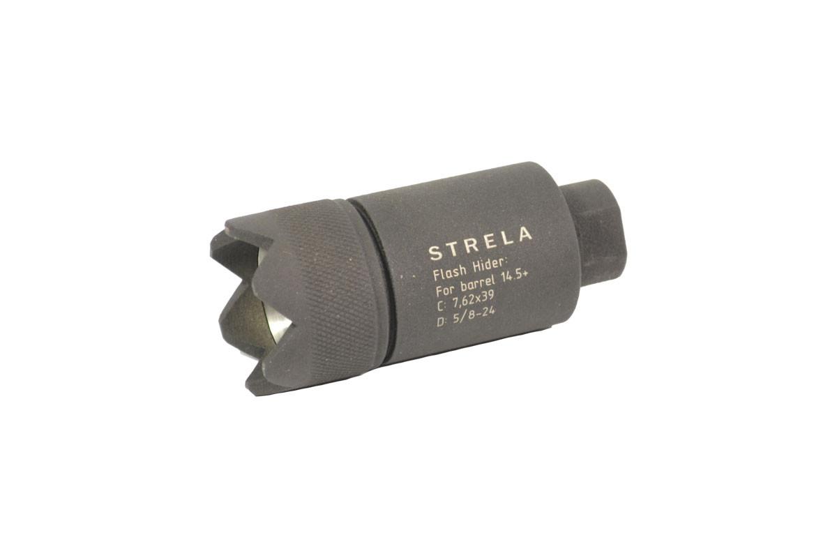 Пламегаситель AR-15 cal 7.62х39 Strela