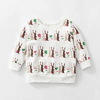 Кофта для девочки Кролики Little Maven