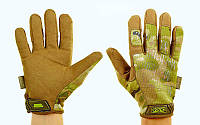 Перчатки тактические с закрытыми пальцами MECHANIX BC-5623-M (р-р L-XL, камуфляж multicam)