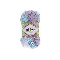 Пряжа для ручного вязания Alize miss batik (Ализе мисс батик)  3720
