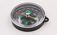 Компас магнитный 55CM (d-55мм, металл, пластик)