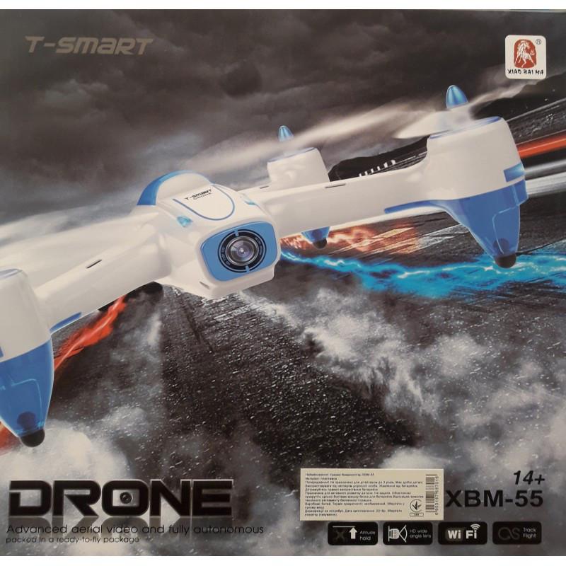 Квадракоптер - Dron с камерой WIFI FPV T-smart XBM-55