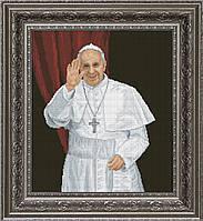Наборы для вышивания нитками на канве Папа Римский КИТ 10413