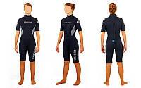 Гидрокостюм женский для серфинга и водных лыж LEGEND PL-6406W (3мм неопрен, размер S-XL-155-173см, вес 50-70 кг)