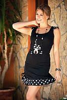 Домашний костюм майка и юбка, одежда для пляжа Shirly 5005