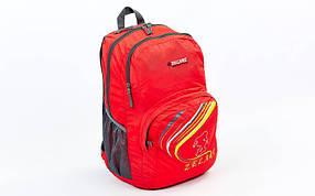 Рюкзак спортивный с жесткой спинкой ZEL GA-3705 (нейлон, р-р 49х30х13см, цвета в ассортименте)