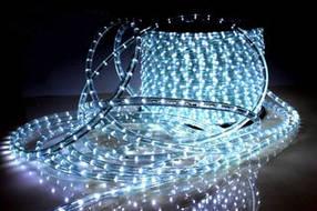 Дюралайт LED белый 100 метров\уличный . Дюралайт светодиодный LED-2WRL-13 mm ДЮРАЛАЙТ СВЕТОДИОДНЫЙ