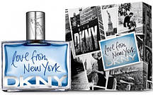 Donna Karan Love From New York for Men (Донна Каран Лав Фром Нью Йорк фо Мэн), мужская туалетная вода, 90 ml