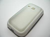 Чехол силиконовый TPU Case Samsung GT-S6312 Galaxy Young white