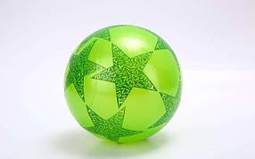 Мяч резиновый BA-3931 Star (резина, вес-60г, р-р 16-25см (6-10in),белый, синий, желтый, фиолетовый)
