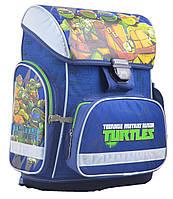 Рюкзак каркасний ортопедичний 555084 H-26 Turtles, синій, 1 ВЕРЕСНЯ, фото 1