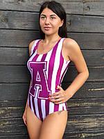 Яркий купальник с буквой, фото 1