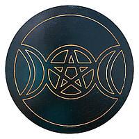Пентакль Триединая Богиня (большой)