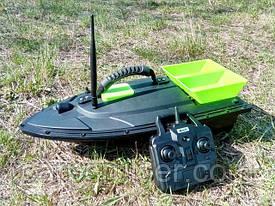 Прикормочный кораблик Flytec2011-5 (уценка) радиоуправляемый для рыбалки прикормки