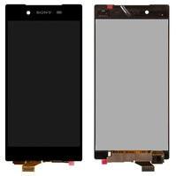 Дисплей (экран) для Sony E6683 Xperia Z5 Dual с сенсором (тачскрином) черный Оригинал