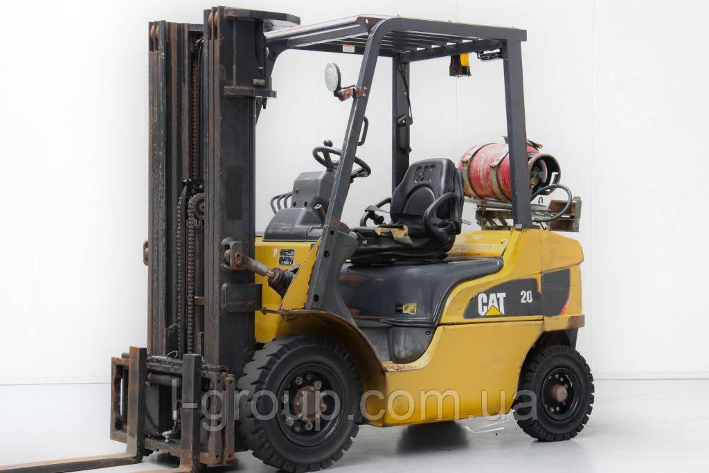 Газовий навантажувач CAT GP20NT, 2 т, 4.7 м, 2014