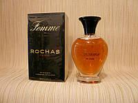 Rochas - Femme Rochas (1943) - Туалетная вода 100 мл - Старый дизайн, старая формула аромата