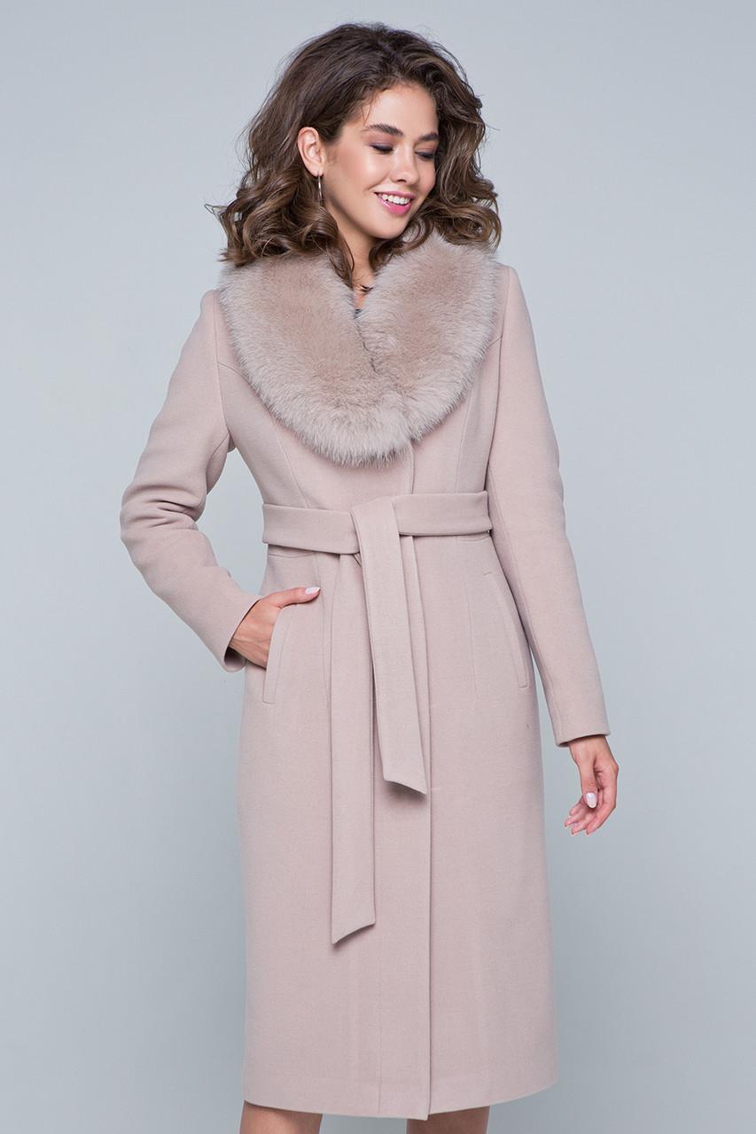 8e52d14c8b8 Купить Длинное пальто с мехом