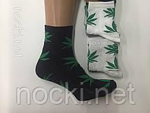 """Шкарпетки чоловічі """"коноплі"""" середньої висоти пр-під Туреччина"""