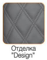 "Кресло Grand (Гранд) ткань Азур черная, шов ""Design"" (ТМ Kulik System), фото 2"