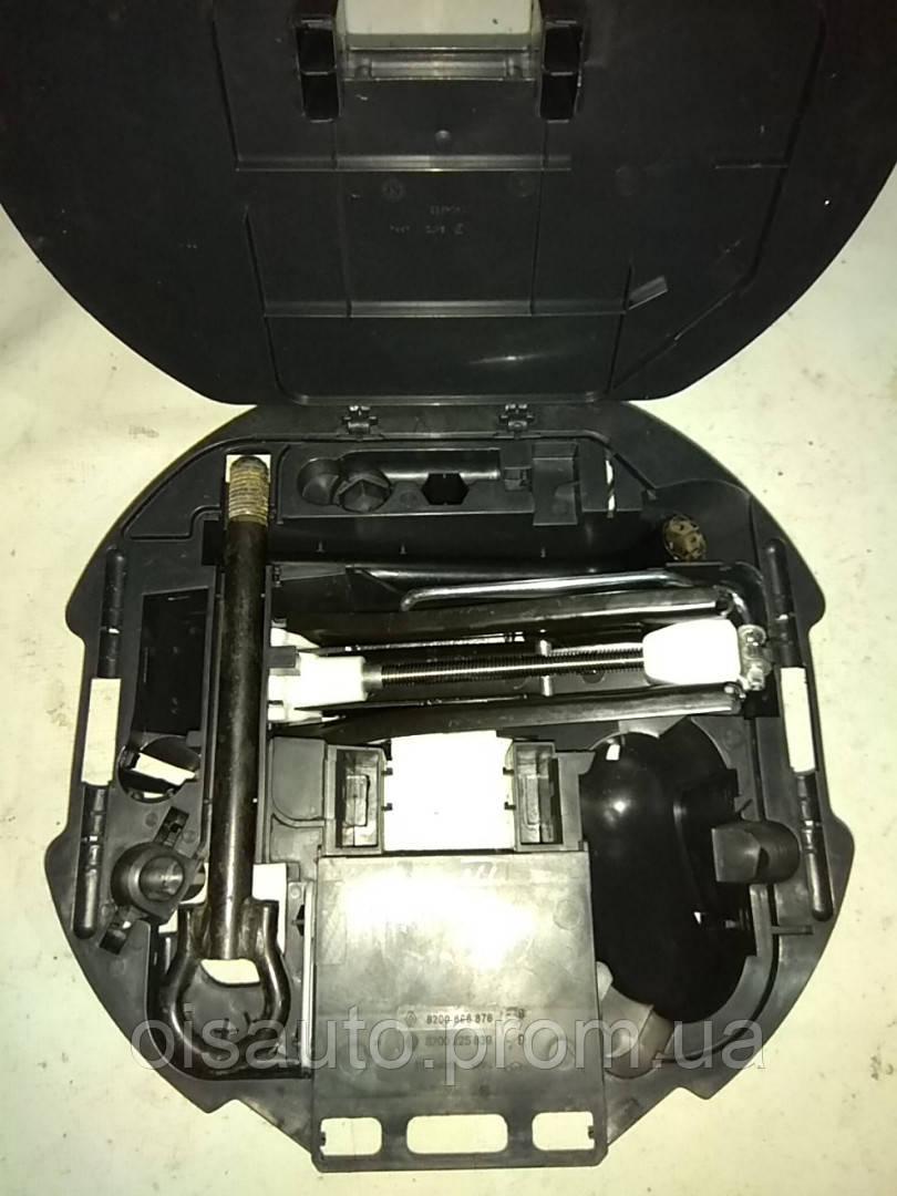 Комплект запасного колеса домкрат крюк / ключ - в запаску OE RENAULT 8200225839
