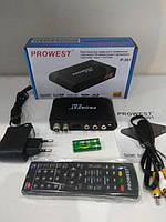 Цифровой эфирный Т2 приемник DVB-T2 ресивер Prowest P-301