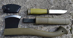Набор MORA (топор - Outdoor Axe Camp 1991 и нож MORA Outdoor 2000) 1-2001