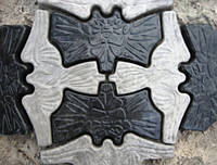"Тротуарная плитка ""Ночная бабочка"""