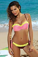 Двухцветный раздельный купальник Felicia