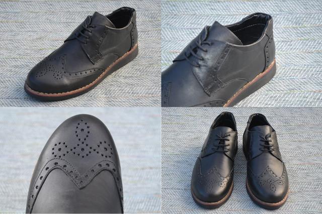 Туфли оксфорд на шнурках, Bayrak фото