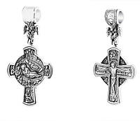 Крест нательный серебряный Распятие. Рождество Христово 231-R