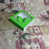 Коробка для пряников Салатовая с окном-бабочка   120*120*30