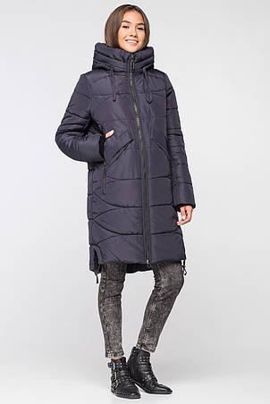 Женская зимняя куртка VS MT-185 темно-синий (SIN16), фото 2