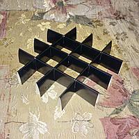 Перегородка для конфет / 150х150х30 мм / 16 ячеек / Маленьк / печать-Черн, фото 1