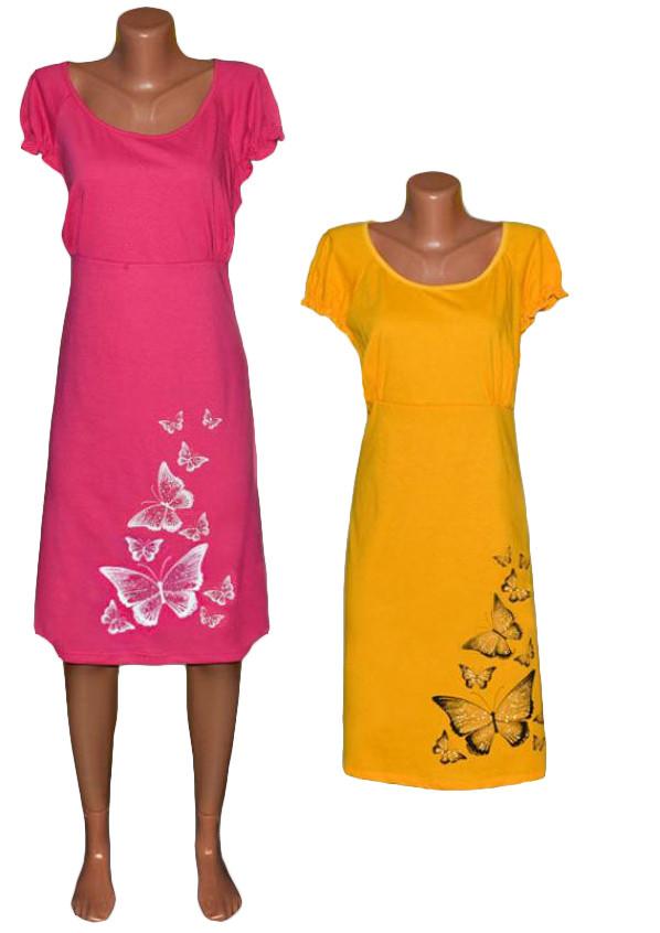 Ночная рубашка женская 03285 Шалунья с принтом, хлопок, р.р.50-58