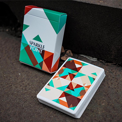 Карты игральные | Sparkle Point (Green) Playing Cards, фото 2