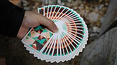 Карты игральные| Sparkle Point (Green) Playing Cards, фото 3