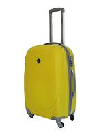 Чемодан Bonro Smile средний желтый (110031)