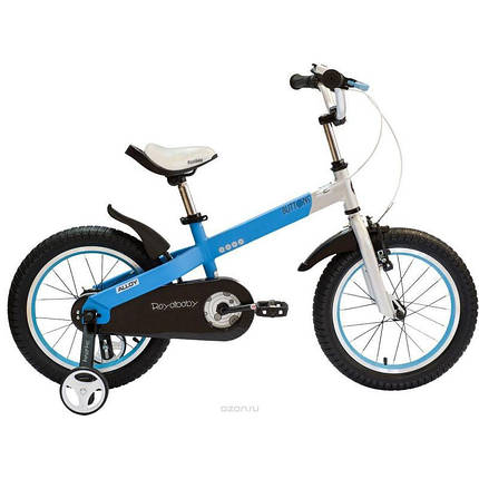 """Велосипед детский RoyalBaby BUTTONS DIY 14"""", бело- голубой, фото 2"""
