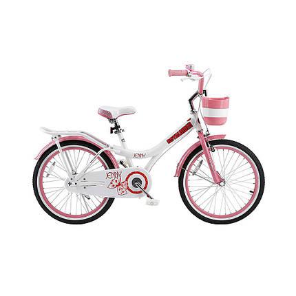 "Велосипед детский RoyalBaby JENNY GIRLS 20"", белый, фото 2"