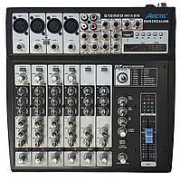 Мікшерний пульт аналоговий ARCTIC SM802D USB