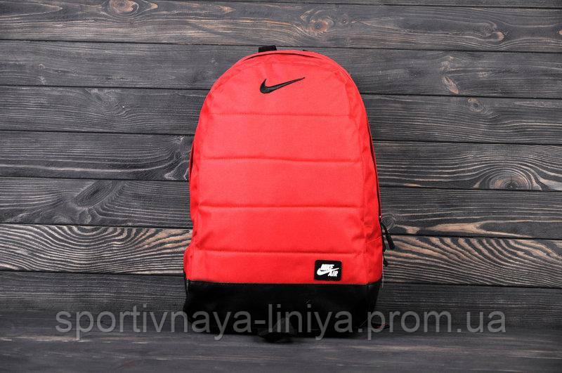 Спортивный рюкзак  Nike реплика красный