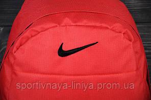 Спортивный рюкзак  Nike реплика красный, фото 2
