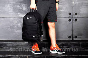 Спортивный рюкзак  Nike реплика черный, фото 2