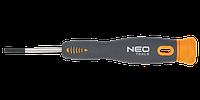 Отвертка шлицевая прецизионная 1.5-3.0 x 40 мм, CrMo, 04-081, 04-082, 04-083, 04-084