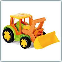 Трактор гигант с совком Wader