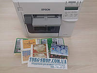 Принтер для печати цветных самоклеющихся этикеток Epson ColorWorks C3500, фото 1