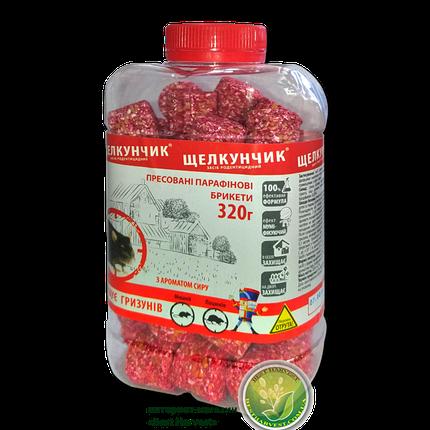 «Щелкунчик» брикеты красные 320 г банка, от крыс и мышей, оригинал, фото 2