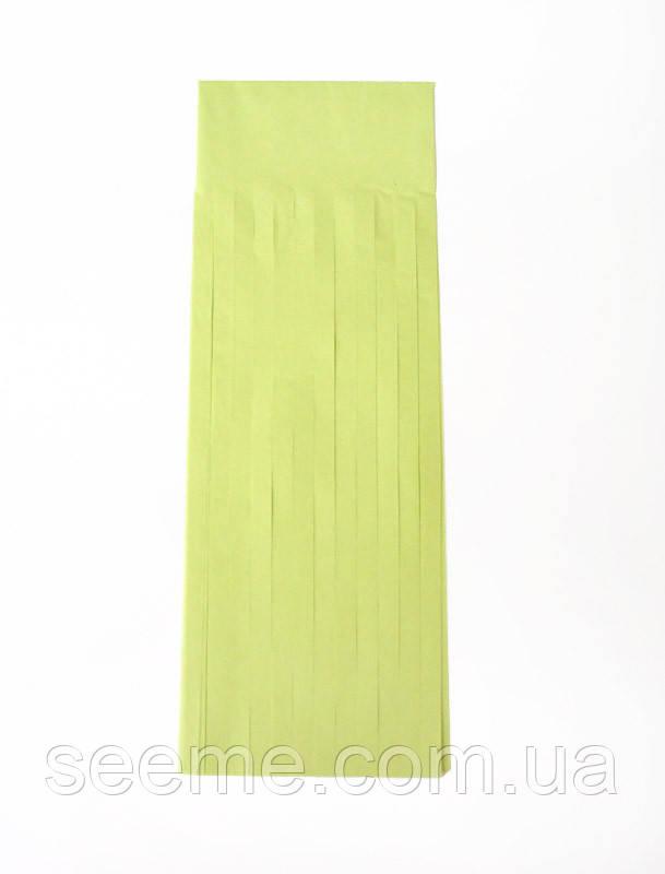 Бумажная гирлянда-кисточка из тишью «Leaf Green», набор из 5 шт.