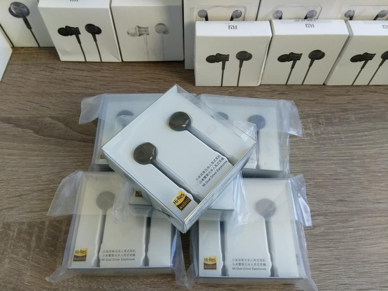 7f8f353b8c1 Наушники Xiaomi Mi Dual-Unit Half-Ear Headphones BRE01JY Ceramic - Интернет  магазин